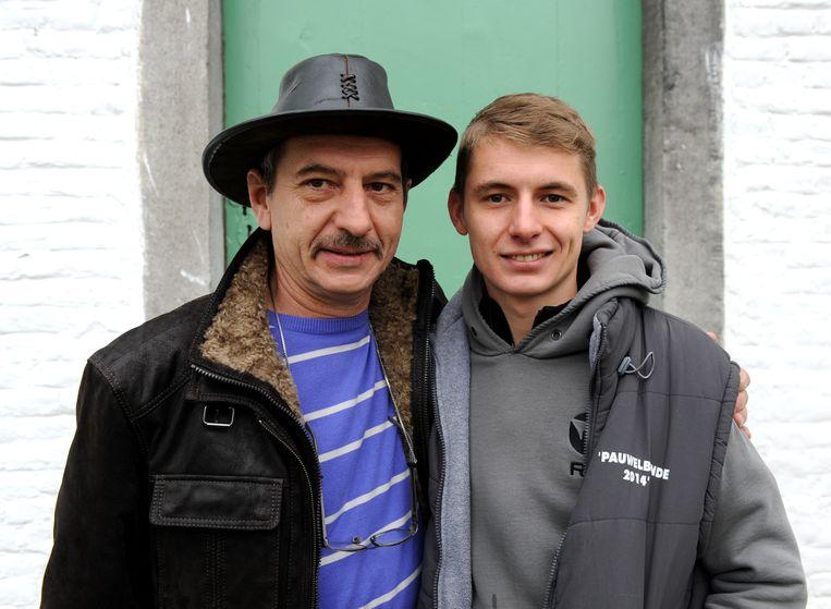 Marc en zijn zoon Jonas.