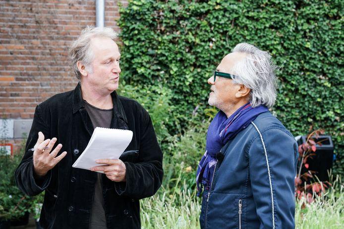 Joost Goutziers interviewt Anish Kapoor in Tilburg.