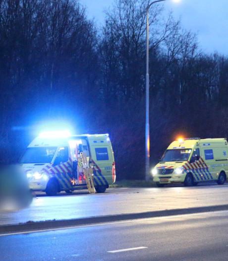Motorrijder gewond bij ernstig ongeval in Oldenzaal, omstanders verlenen eerste hulp