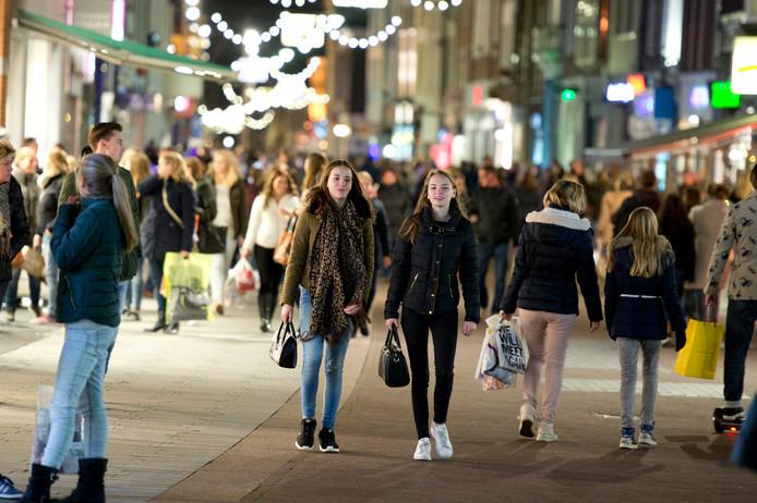 In Den Bosch is al enkele keren een Late Night Shopping-avond geweest.