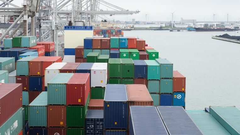 De politie kwam het Brabantse bedrijf op het spoor toen de douane tijdens een controle in de Rotterdamse haven een container uit China aantrof. Beeld anp