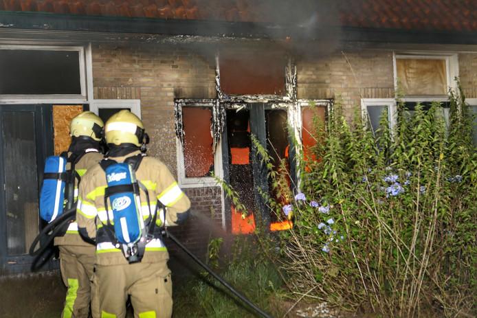 De brandweer kon de brand blussen