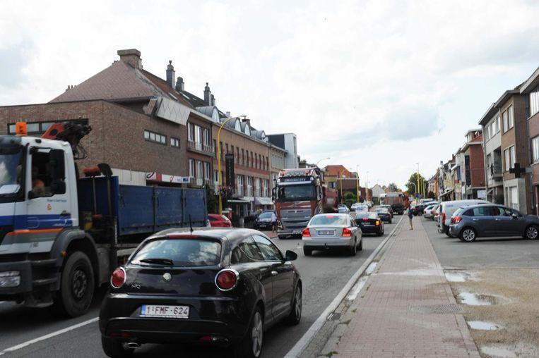 Vanaf dinsdag is er opnieuw extra hinder te verwachten op de Wolvertemsesteenweg.