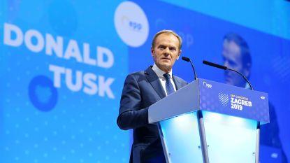 Donald Tusk verkozen tot voorzitter van Europese Volkspartij