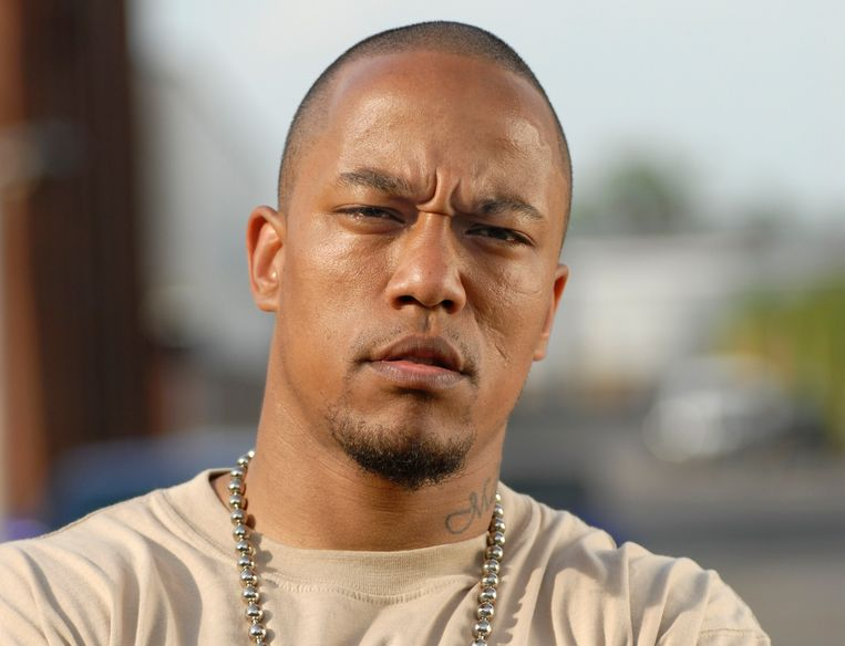 De geradicaliseerde Duitser Denis Cuspert. In eigen land genoot die bekendheid als rapper Deso Dogg.
