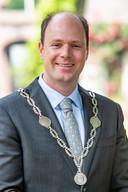 Oud-burgemeester Ryan Palmen van de gemeente  Hilvarenbeek, tegenwoordig burgemeester in Horst aan de Maas.