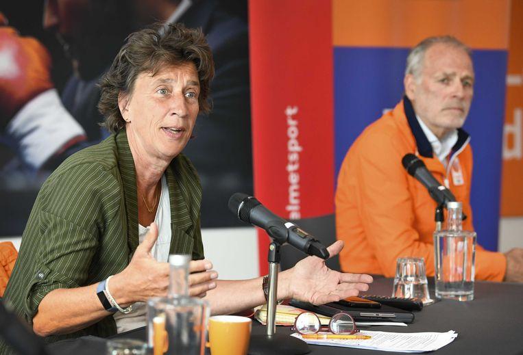 NOCNSF-voorzitter Anneke van Zanen. Beeld ANP