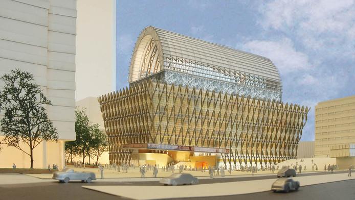 De bouw van het omstreden cultuurpaleis van 181 miljoen euro gaat niet door.