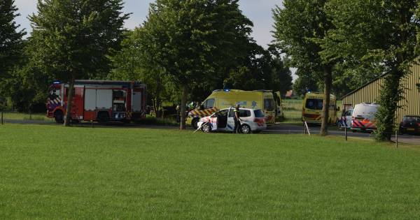 Zwaargewonden bij ongeval op boerderij in Zelhem.