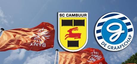 Cambuur, De Graafschap en KNVB kijken nu alleen nog maar vooruit
