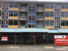 Sloop flats en winkels Fazantstraat in Enschede begonnen