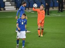 L'Italie bousculée par les Pays-Bas