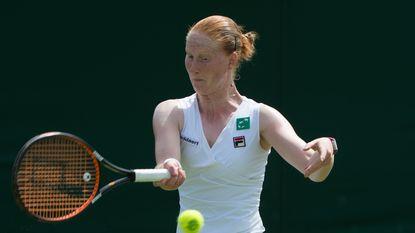 Alison Van Uytvanck kan niet stunten tegen Makarova