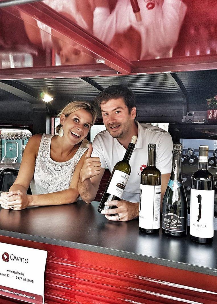 OUDENBURG - Thomas Kü en zijn vrouw Griet van Qwine