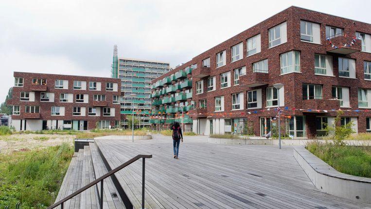 Drie jaar geleden mochten er nog wel nieuwe studentenwoningen worden gebouwd op Uilenstede. Nu zou dat vanwege de vliegroutes niet meer kunnen Beeld Sanne Zurné