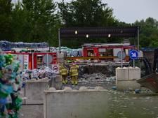 Gastank ontploft bij recyclebedrijf in Spijk