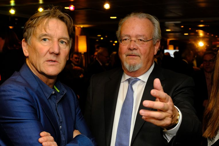 Oude kartelpartners: Patrick Janssens kwam Marc Van Peel uitwuiven.