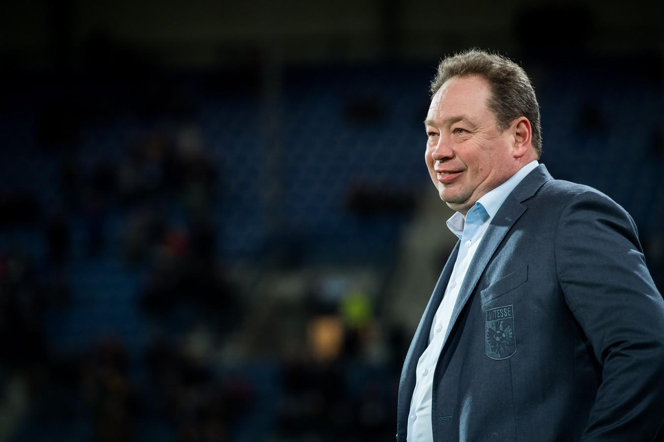 Leonid Sloetski in het duel met Heerenveen.