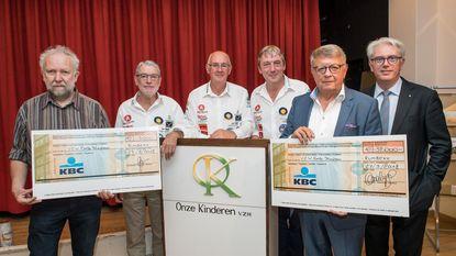 Philippe en Jozef fietsen 35.000 euro bijeen voor La Trao