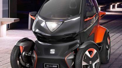Seat stelt de Minimo voor, een klein elektrisch voertuig voor in de stad