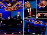 ANALYSE. Trump won het laatste verkiezingsdebat met leugens. Maar dit keer won hij tenminste