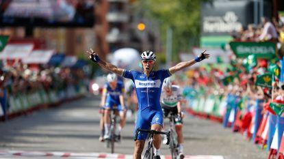 Philippe Gilbert pakt tweede ritzege na enerverende waaierrit, Quintana wordt tweede in klassement