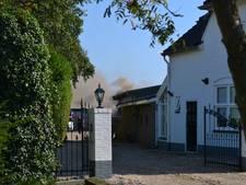 Brandend gereedschap veroorzaakt brand in loods Bemmel