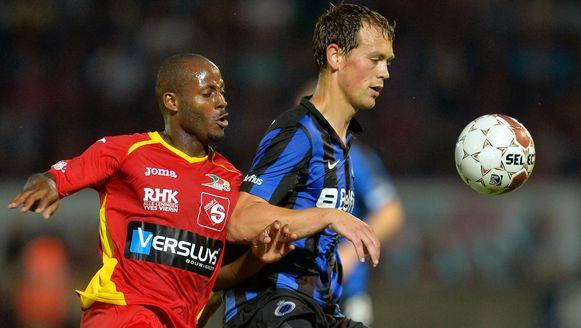 Xavier Luissint, links naast Tom De Sutter, trekt naar Cercle Brugge.