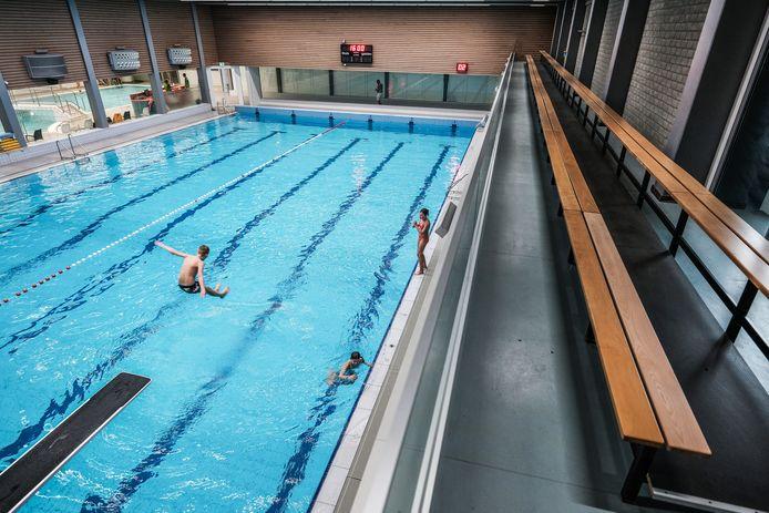 Wedstrijdbad zwembad Rozengaarde.