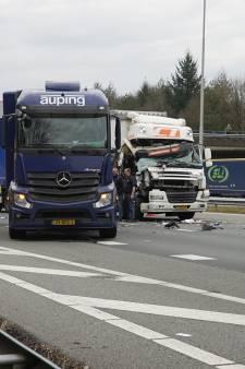 Gemist? Vrachtwagenchauffeur heeft 'duizend engeltjes op zijn schouder'