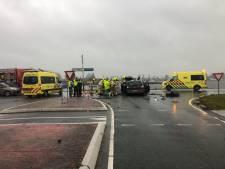 Ernstig ongeval in Zeewolde tussen auto en bestelbusje