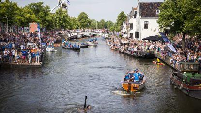 LIVE. Leeuwarden maakt zich op voor de intocht, nog 11 kilometer voor Van der Weijden in zijn Elfstedentocht