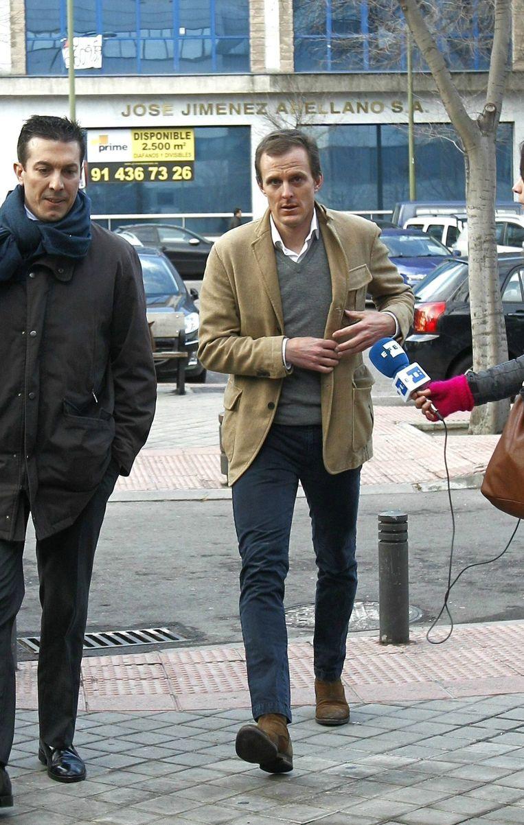 Jörg Jaksche (rechts). Beeld epa