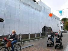 Hofje van Mevrouw van Aerden in Leerdam 'ingepakt' voor renovatie