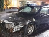 Voorkant auto volledig uitgebrand in Sint Michielsgestel