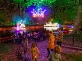 Smurfenvijver Lichtjesroute in Eindhoven blijft leeg door corona