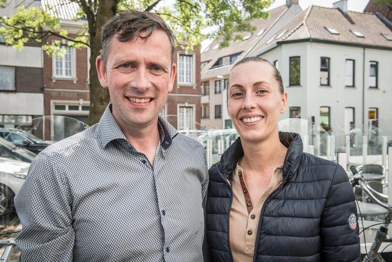 Emmanuel Desimpel en Stefanie Labis.