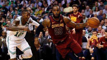 Cavaliers ondanks uitmuntende LeBron James opnieuw ten onder tegen Celtics - Phoenix heeft voorkeur bij NBA-draft