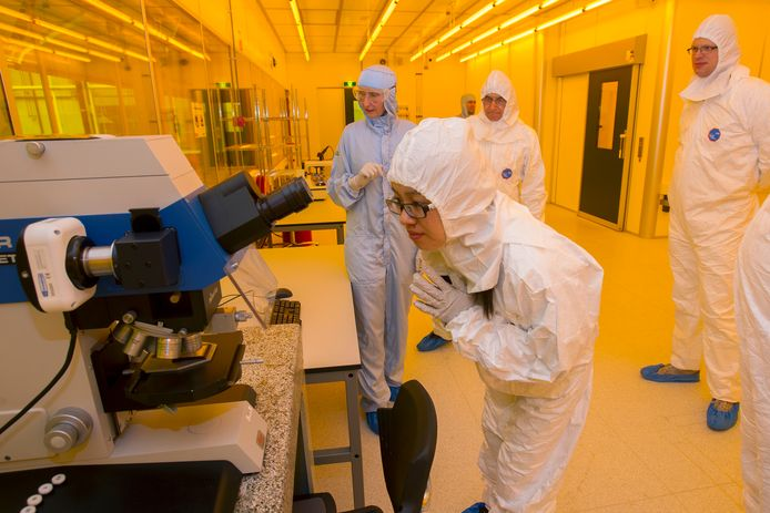 Smart Photonics opende in 2017 een een cleanroom op de High Tech Campus in Eindhoven.