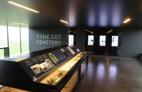 Ook het bezoekerscentrum van het Tyne Cot Cemetery werd gedeeltelijk vernieuwd.