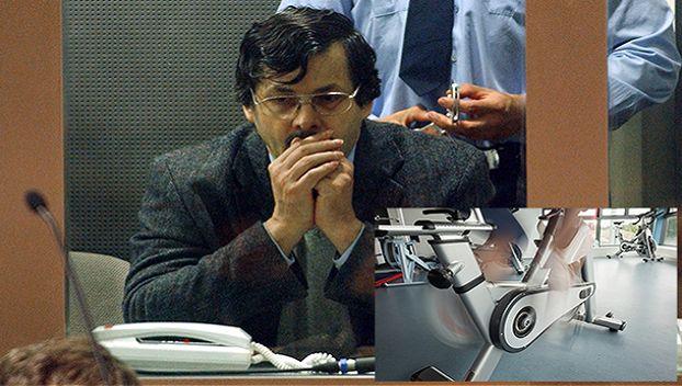 Marc Dutroux lors de son procès en 2004.