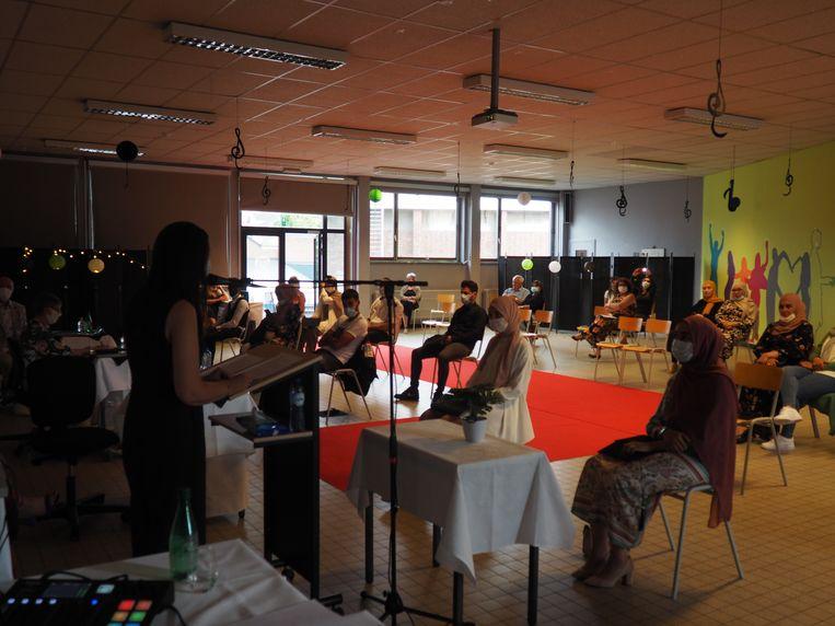Busleyden Atheneum Campus Stassart organiseert niet een, maar acht problamaties. Met directeur Tanja Janssens.