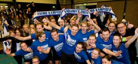 Korfballers Animo vieren alsnog kampioenschap