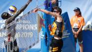 Nieuwe start van het beachduo Koekelkoren-Van Walle meteen beloond met brons