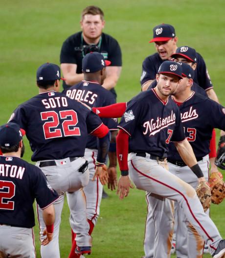 Washington Nationals winnen eerste duel World Series