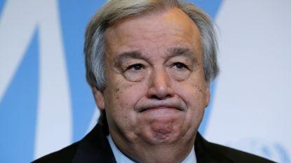 Protest tegen Syrisch voorzitterschap VN-conferentie over ontwapening