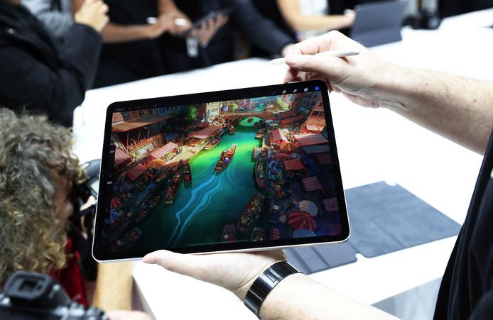 De nieuwste iPad Pro die voorgesteld werd in 2018.