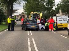 Fietser zwaar gewond na aanrijding in Waddinxveen