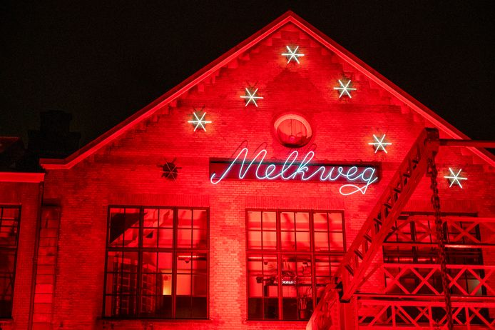 Het Amsterdamse muziekpodium de Melkweg.