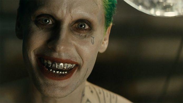 Jared Leto speelt 'The Joker' in 'Suicide Squad'.